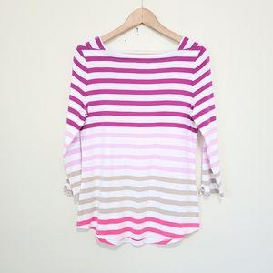 NWOT Westbound striped shirt M